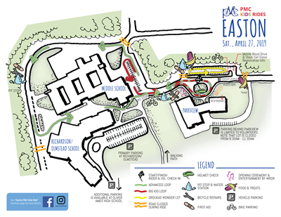 easton map