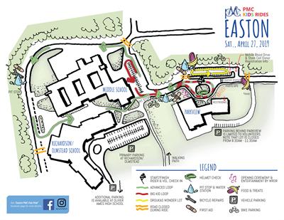 easton map